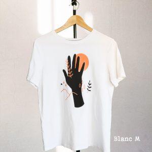 T-shirt Main et Elements